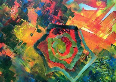 Innerlijke Rijkdom/Vedic Art/Rianne van den Heuvel